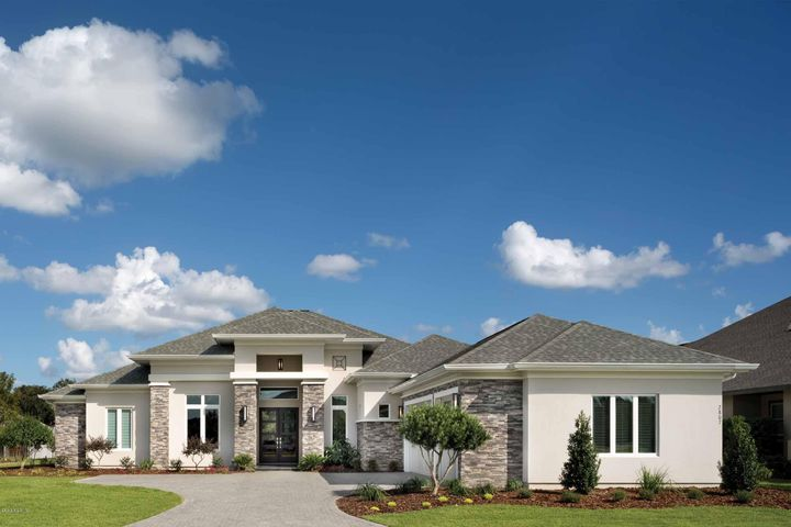 Luxury homes in ocala ocala horse properties for Custom home plans florida
