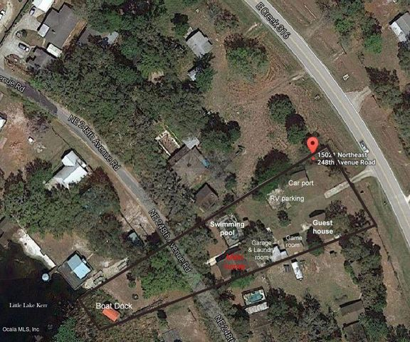 15025 NE 248 Avenue Road, Salt Springs, FL 32134