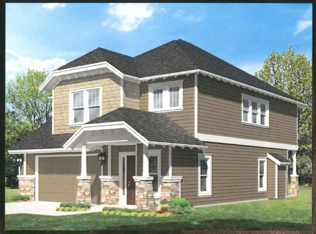 Artists' Rendering of finished home. Exterior/Interior finishes may vary.
