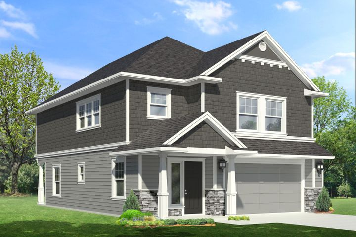 Artists' Rendering of finished home.