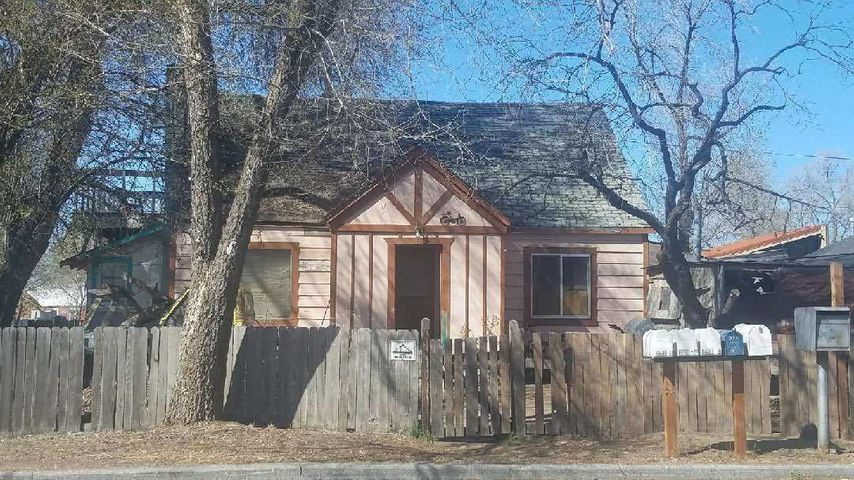 Fixer opportunity! CL zoning but residence is legal. Can be remodeled.