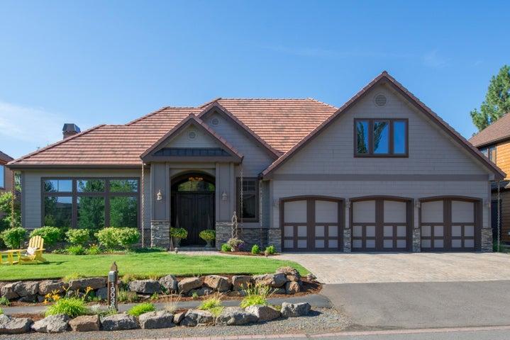 Custom designed home built by premier builder Artisan Homes and Design.
