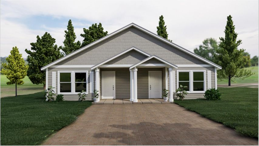Rendering of future home.