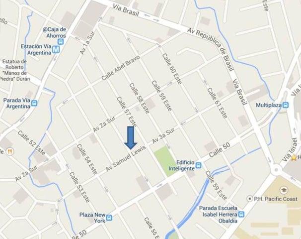 Oficina Panama>Panama>Obarrio - Venta:290.000 US Dollar - codigo: 14-1040