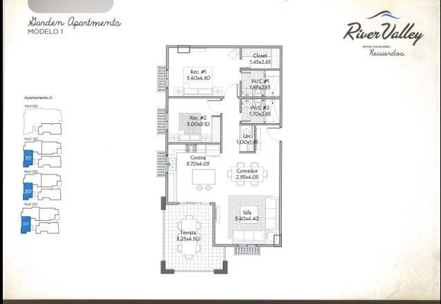 Apartamento Panama>Panama>Howard - Venta:389.995 US Dollar - codigo: 14-1140
