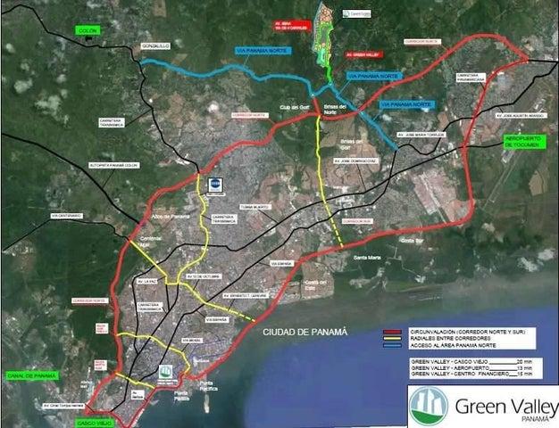 Terreno Panama>Panama>Brisas Del Golf - Venta:5.510.400 US Dollar - codigo: 15-617