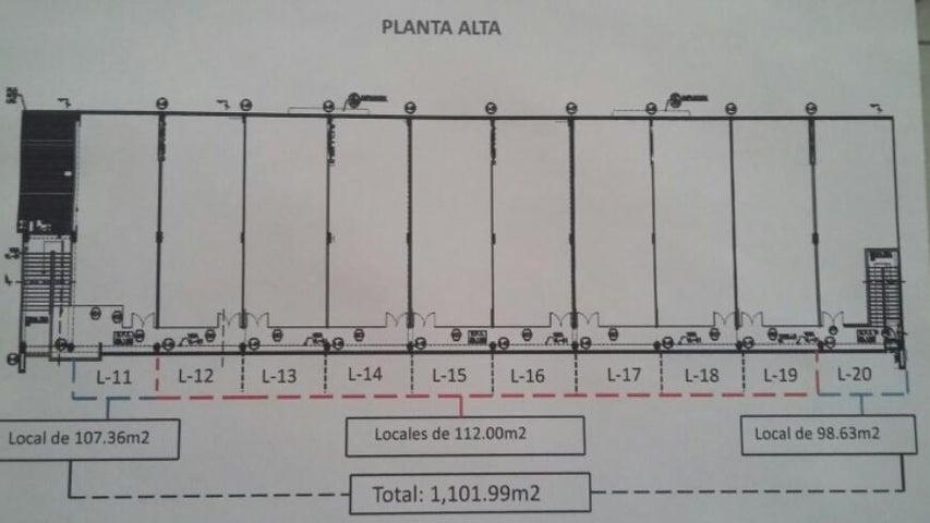 Local comercial Panama>Panama>Tocumen - Venta:224.000 US Dollar - codigo: 15-1440