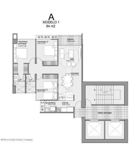 Apartamento Panama>Panama>Betania - Venta:167.950 US Dollar - codigo: 15-3345