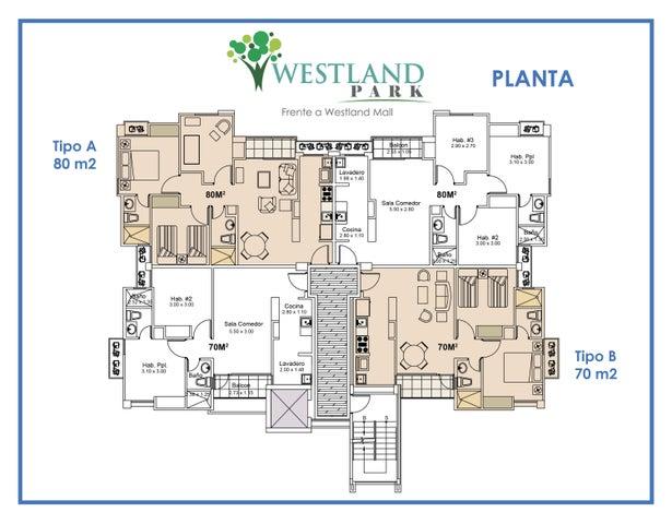 Apartamento Panama>Panama Oeste>Arraijan - Venta:119.000 US Dollar - codigo: 16-469