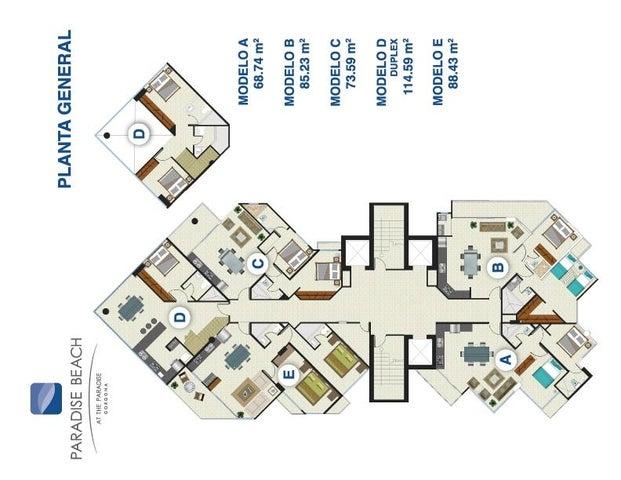 Apartamento Panama>Chame>Gorgona - Venta:211.000 US Dollar - codigo: 16-484