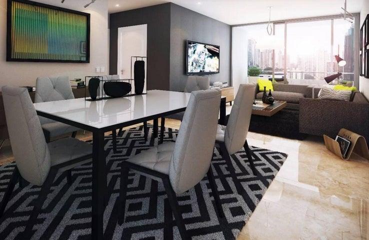 Apartamento Panama>Panama>Obarrio - Venta:298.000 US Dollar - codigo: 16-624