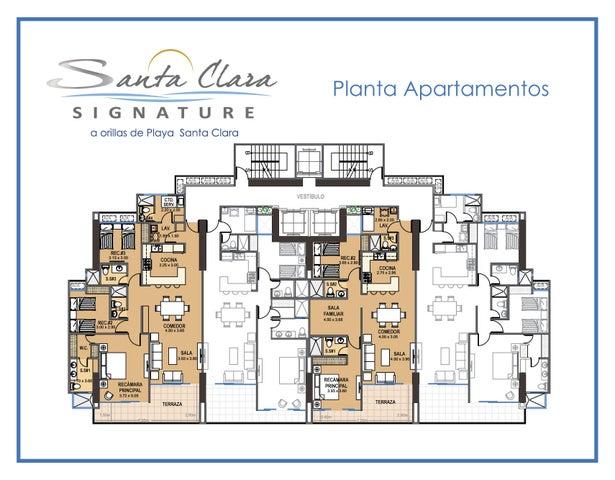 Apartamento Cocle>Rio Hato>Playa Blanca - Venta:355.750 US Dollar - codigo: 16-767