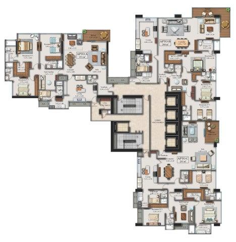 Apartamento Panama>Panama>Costa del Este - Venta:853.400 US Dollar - codigo: 16-1348