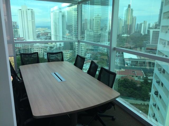 Oficina Panama>Panama>Obarrio - Alquiler:1.150 US Dollar - codigo: 16-1755