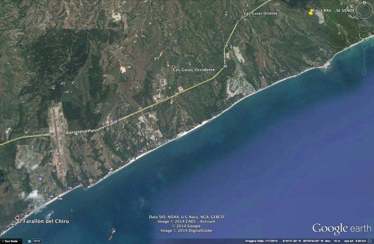 Terreno Panama>San Carlos>San Carlos - Venta:3.976.320 US Dollar - codigo: 16-2196