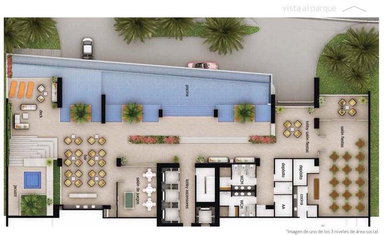 Apartamento Panama>Panama>Costa del Este - Venta:1.020.300 US Dollar - codigo: 16-2408