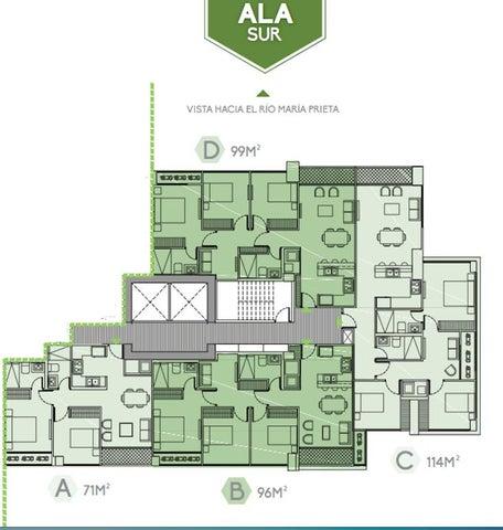 Apartamento Panama>Panama>Brisas Del Golf - Venta:211.200 US Dollar - codigo: 16-3511