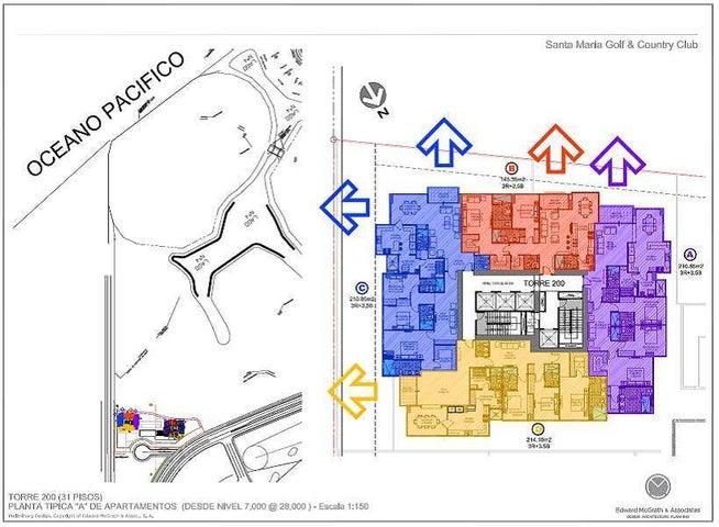 Apartamento Panama>Panama>Santa Maria - Venta:436.980 US Dollar - codigo: 16-3879