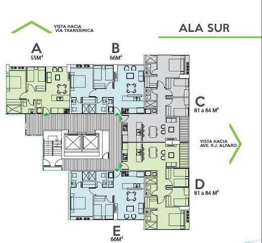 Apartamento Panama>Panama>Ricardo J Alfaro - Venta:166.590 US Dollar - codigo: 16-604
