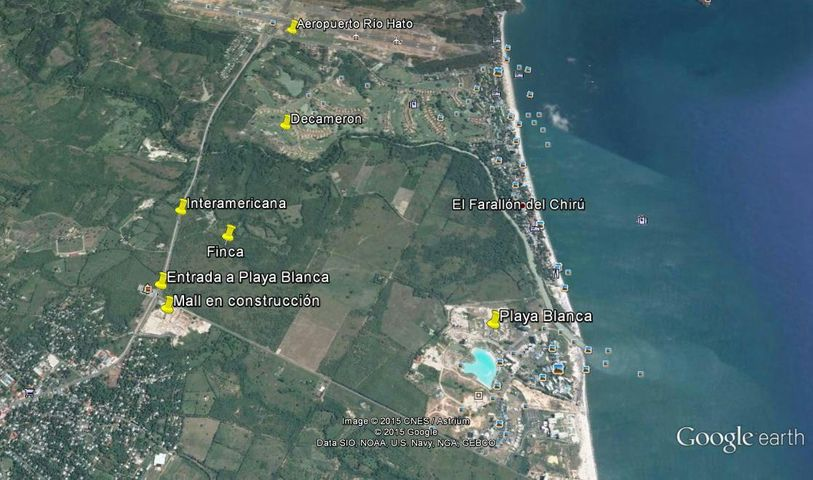 Terreno Cocle>Rio Hato>Playa Blanca - Venta:638.190 US Dollar - codigo: 16-4170