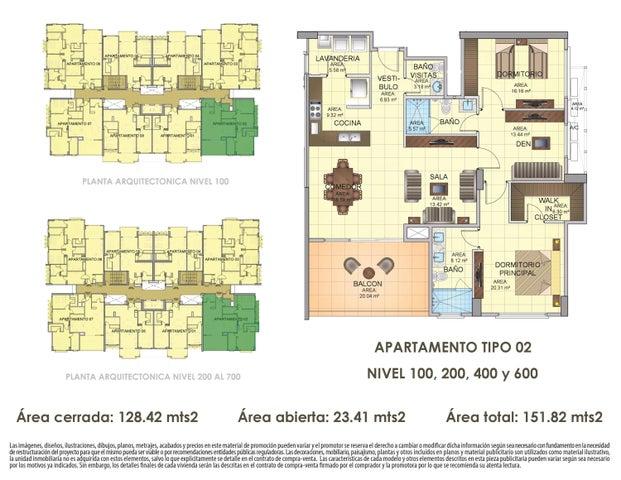 Apartamento Panama>Panama>Panama Pacifico - Venta:333.995 US Dollar - codigo: 16-4539