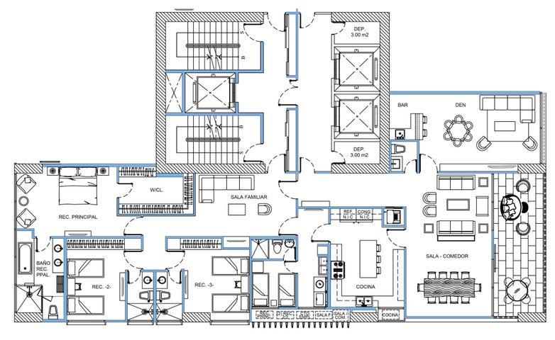 Apartamento Panama>Panama>Santa Maria - Venta:830.000 US Dollar - codigo: 16-1816