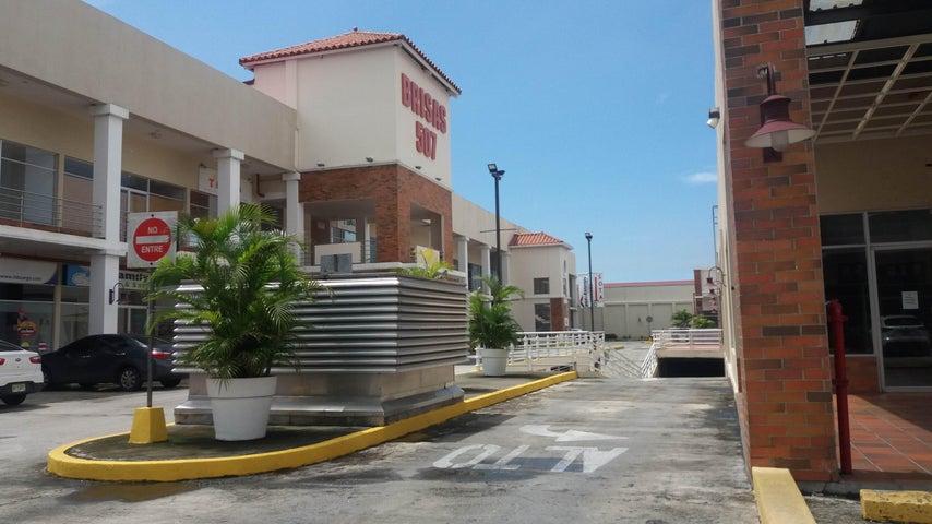 Oficina Panama>Panama>Brisas Del Golf - Alquiler:750 US Dollar - codigo: 17-5908