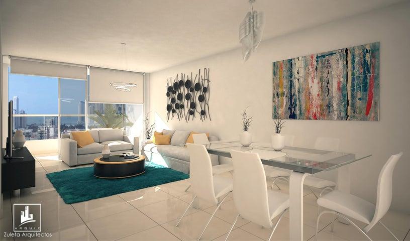 Apartamento Panama>Panama>Hato Pintado - Venta:231.300 US Dollar - codigo: 17-6259