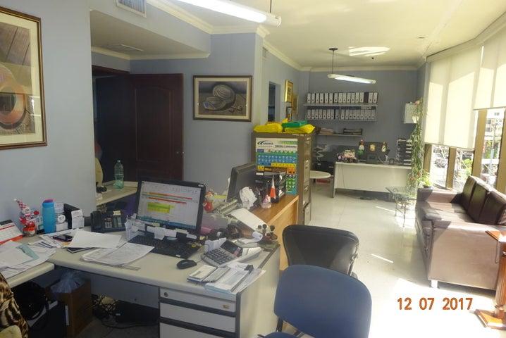 Oficina Panama>Panama>El Cangrejo - Alquiler:1.500 US Dollar - codigo: 17-6839