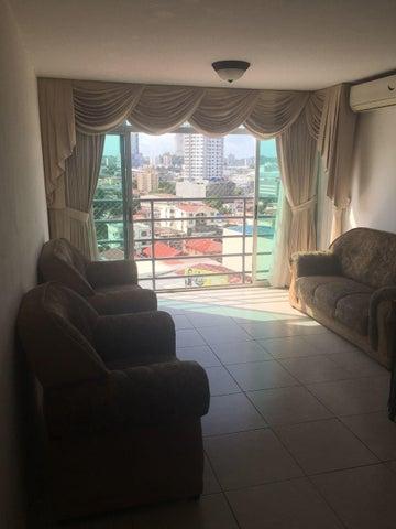 Apartamento Panama>Panama>Vista Hermosa - Alquiler:1.275 US Dollar - codigo: 17-7093