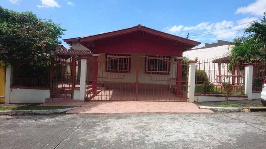 Casa Panama>Panama>Brisas Del Golf - Venta:265.000 US Dollar - codigo: 18-504