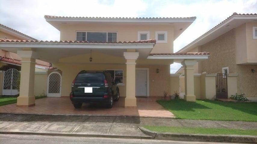 Casa Panama>San Miguelito>Brisas Del Golf - Alquiler:1.700 US Dollar - codigo: 18-2997