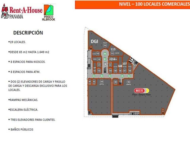Local comercial Panama>Panama>Albrook - Venta:535.500 US Dollar - codigo: 18-3881