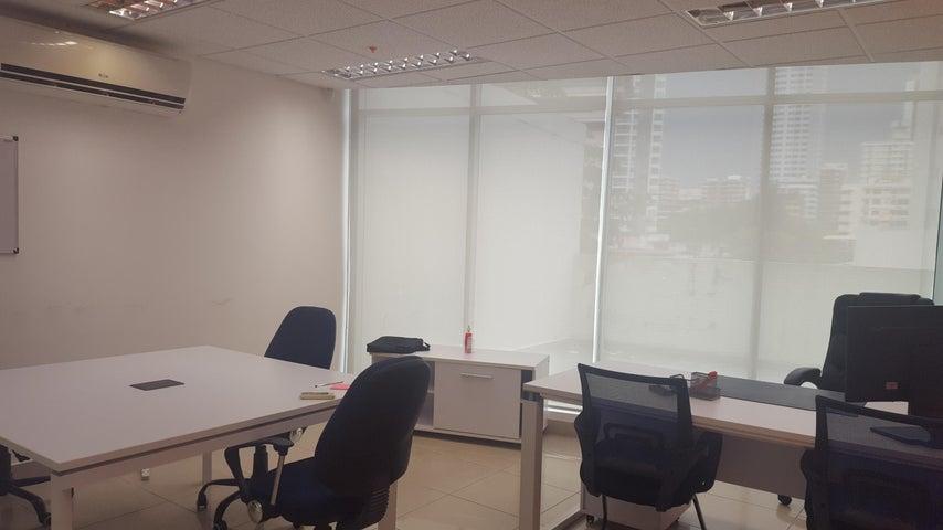 Oficina Panama>Panama>Via España - Alquiler:1.700 US Dollar - codigo: 18-5742