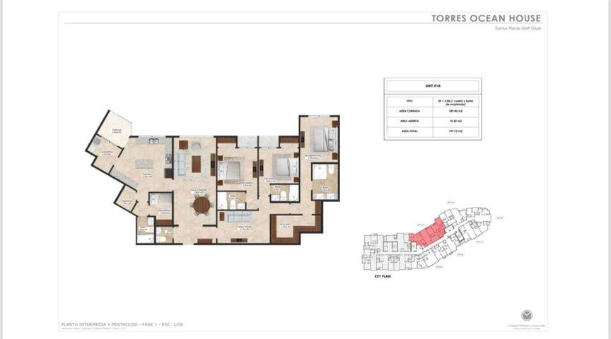 Apartamento Panama>Panama>Santa Maria - Venta:431.491 US Dollar - codigo: 16-3901