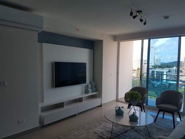 Apartamento Panama>Panama>El Cangrejo - Alquiler:1.200 US Dollar - codigo: 19-1240