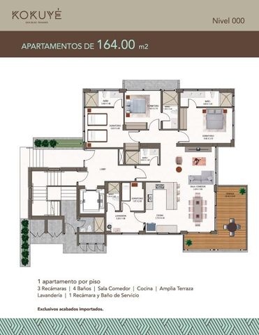 Apartamento Colon>Colón>Colon - Venta:714.000 US Dollar - codigo: 19-2287