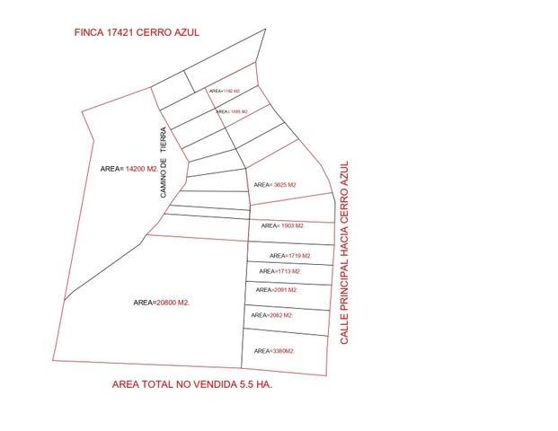 Terreno Panama>Pacora>Cerro Azul - Venta:825.000 US Dollar - codigo: 19-3269