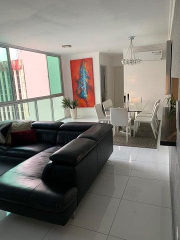 Apartamento Panama>Panama>Bellavista - Alquiler:1.350 US Dollar - codigo: 19-4648