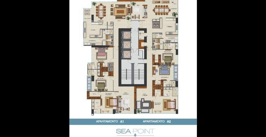 Apartamento Panama>Panama>Paitilla - Venta:875.000 US Dollar - codigo: 19-4779