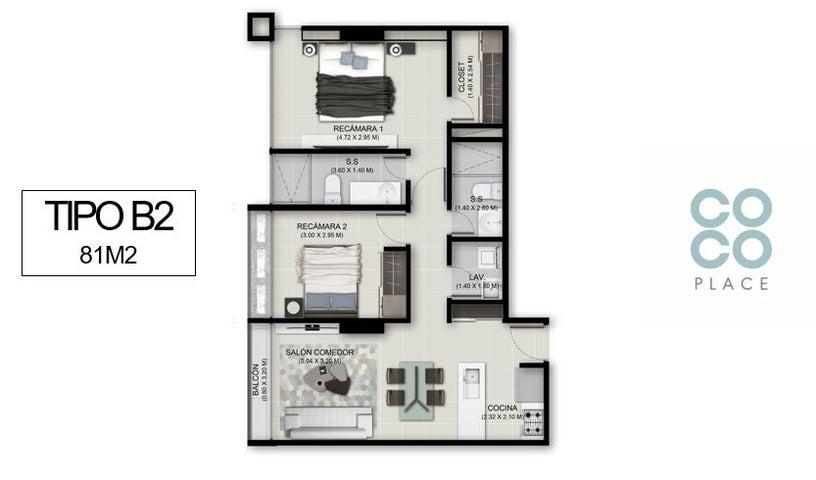 Apartamento Panama>Panama>Coco del Mar - Venta:289.131 US Dollar - codigo: 19-5092