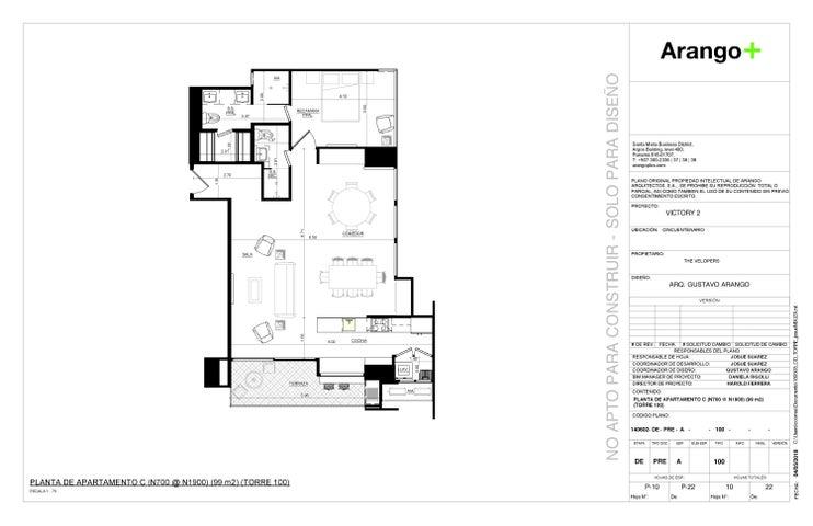 Apartamento Panama>Panama>Coco del Mar - Venta:263.000 US Dollar - codigo: 19-5425