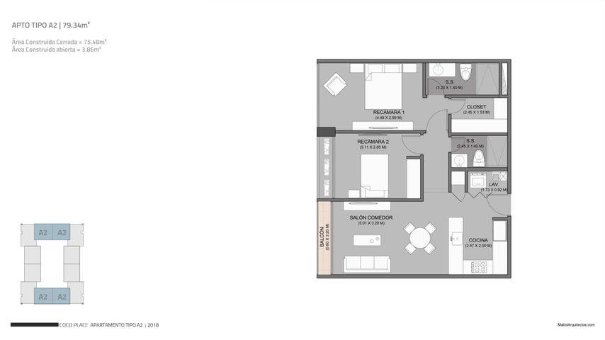 Apartamento Panama>Panama>Coco del Mar - Venta:214.300 US Dollar - codigo: 19-5090