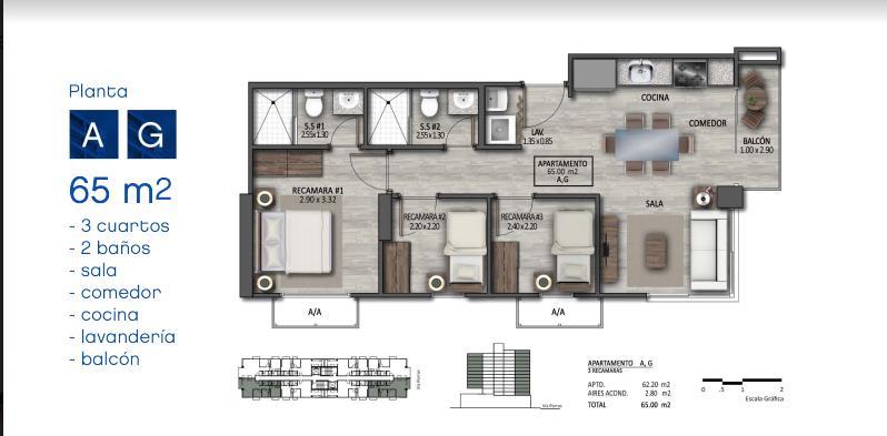 Apartamento Panama>Panama>San Francisco - Venta:131.600 US Dollar - codigo: 19-5459