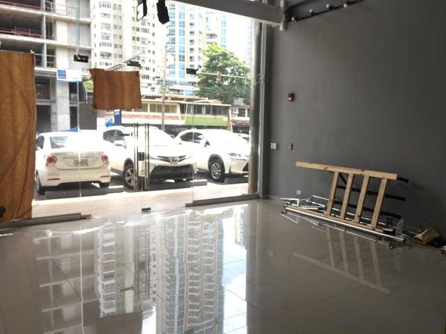 Local comercial Panama>Panama>San Francisco - Alquiler:3.500 US Dollar - codigo: 19-5601