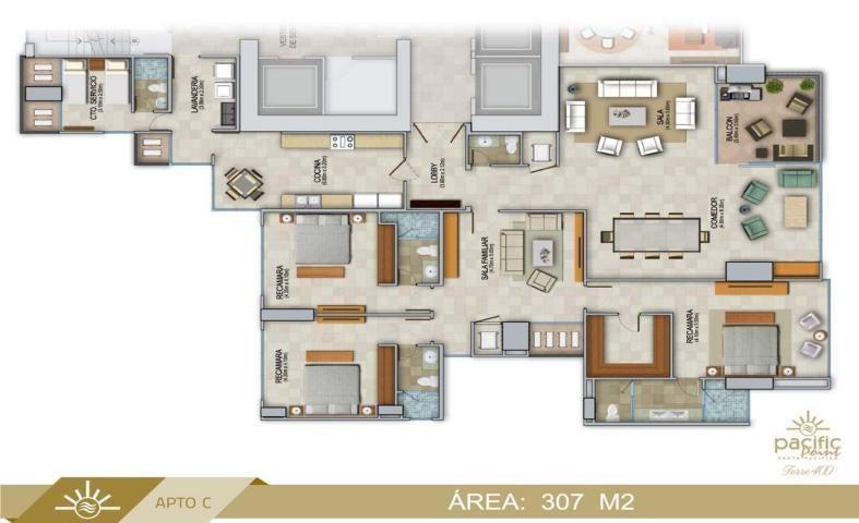 Apartamento Panama>Panama>Punta Pacifica - Venta:875.100 US Dollar - codigo: 19-4483