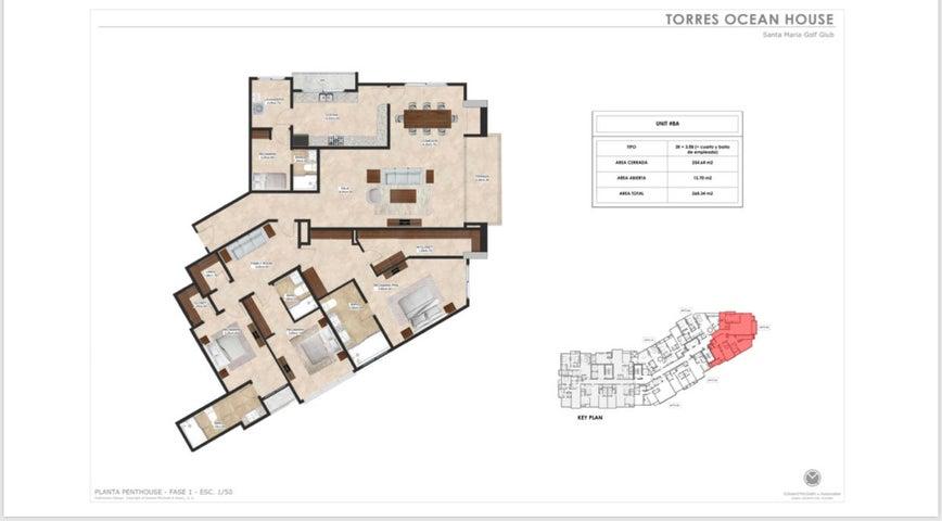 Apartamento Panama>Panama>Santa Maria - Venta:415.580 US Dollar - codigo: 19-6313