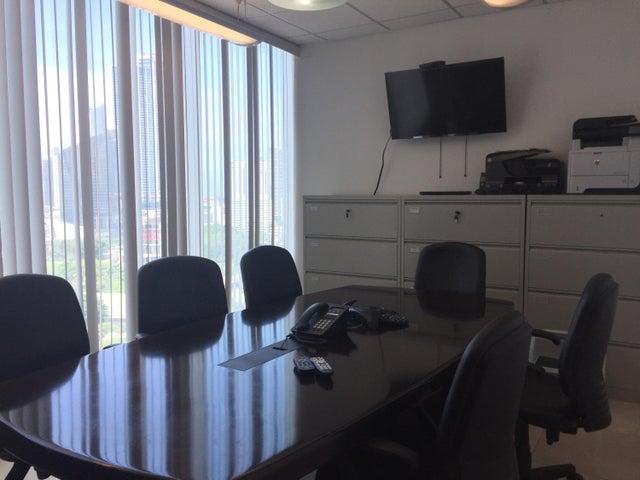 Oficina Panama>Panama>Obarrio - Alquiler:1.600 US Dollar - codigo: 19-6399