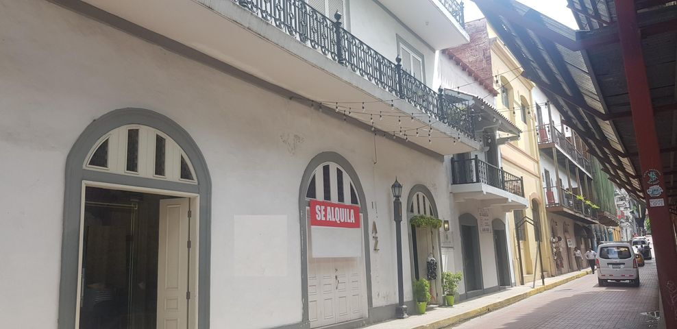 Local comercial Panama>Panama>Casco Antiguo - Alquiler:5.000 US Dollar - codigo: 19-6438