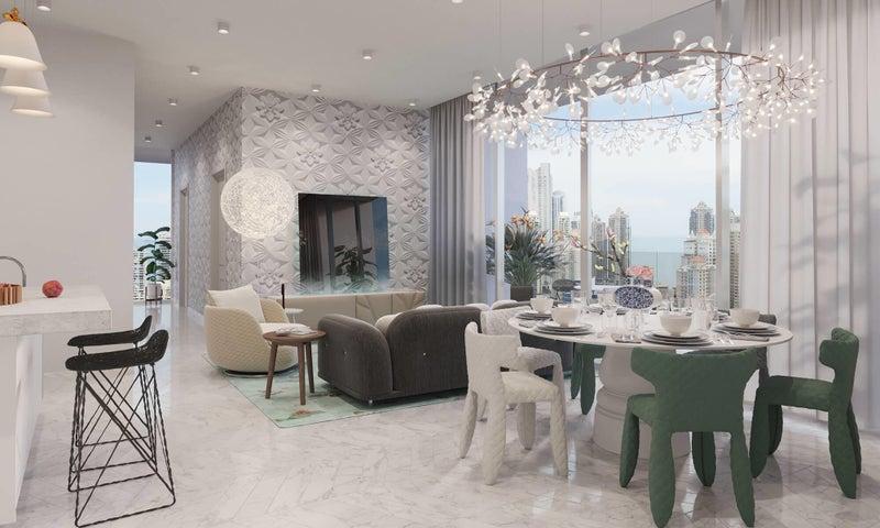 Apartamento Panama>Panama>Marbella - Venta:1.404.120 US Dollar - codigo: 19-7602